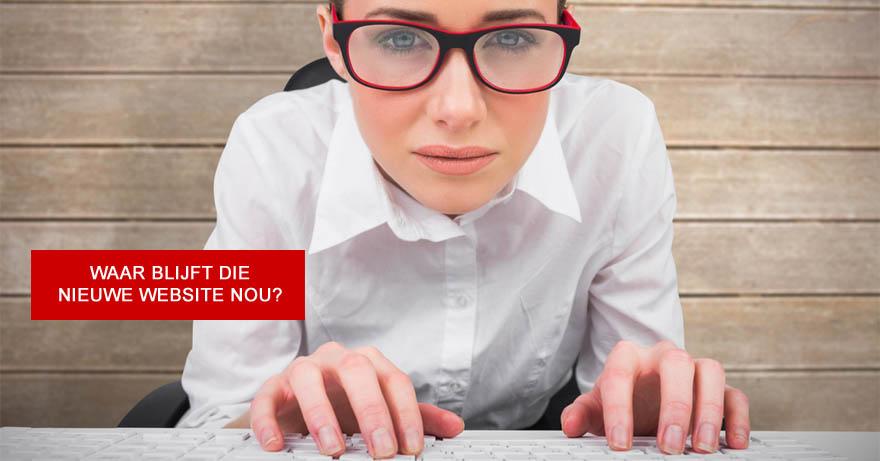 Waar blijft de nieuwe website? Pak het snel weer op met deze tips!