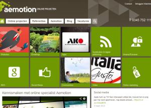 Bilancia heeft de SEO webteksten geschreven voor de nieuwe design website van AeMotion. Bilancia heeft ook referentie afbeeldingen gemaakt en geplaatst.