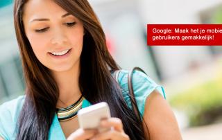 Maak het je mobiele bezoekers makkelijk. Is jouw website mobiel al goed te lezen?