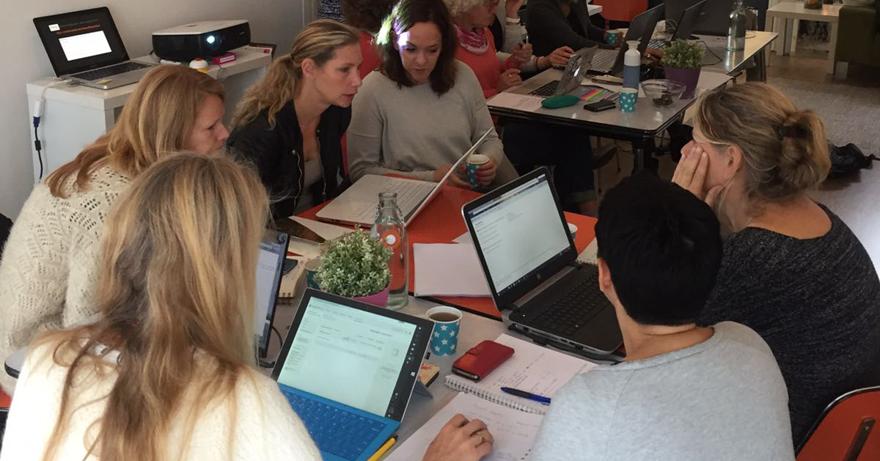 SEO huiswerk van Marketing Energy - SEO introductietraining voor vrouwelijke ondernemers